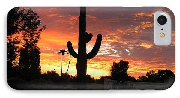 Arizona Sunrise 03 IPhone Case by Rand Swift