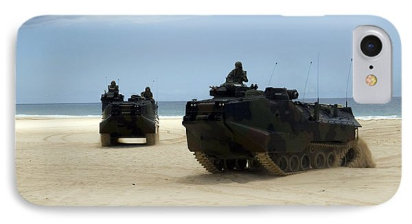 Armored Assault Vehicles Performing Phone Case by Stocktrek Images