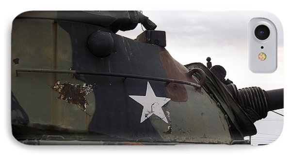 Armored Tank IPhone Case by Rose Santuci-Sofranko