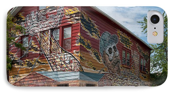 Art House South Chicago Mural IPhone Case by Loriannah Hespe