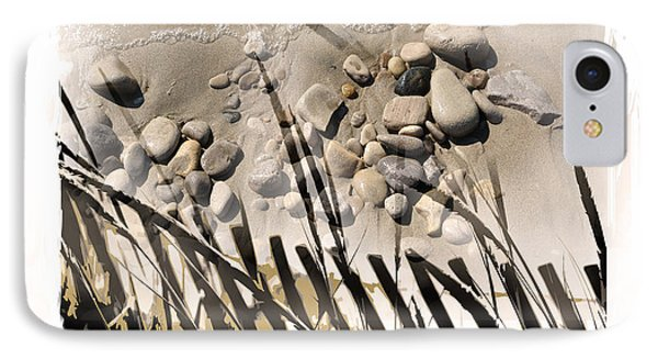 Art In The Sand Series 2 Phone Case by Bob Salo