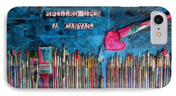 Art Is Blue Version Phone Case by Patti Schermerhorn