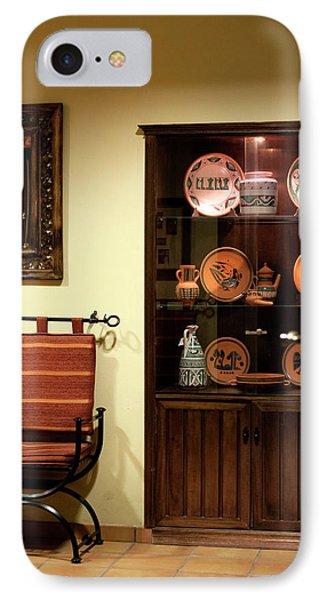 IPhone Case featuring the photograph Artful Doorway by Lorraine Devon Wilke