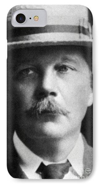 Arthur Conan Doyle, Scottish Author Phone Case by Science Source