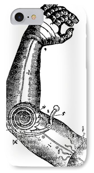 Artificial Arm Designed By Ambroise IPhone Case by Science Source