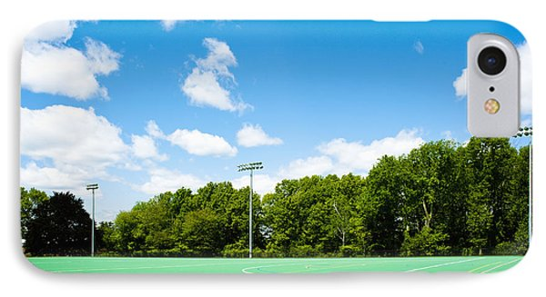 Artificial Turf Athletic Field Phone Case by Sam Bloomberg-rissman
