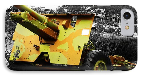 IPhone Case featuring the photograph Artillery Piece by Blair Stuart