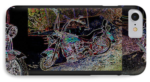 Artistic Harley Montage IPhone Case