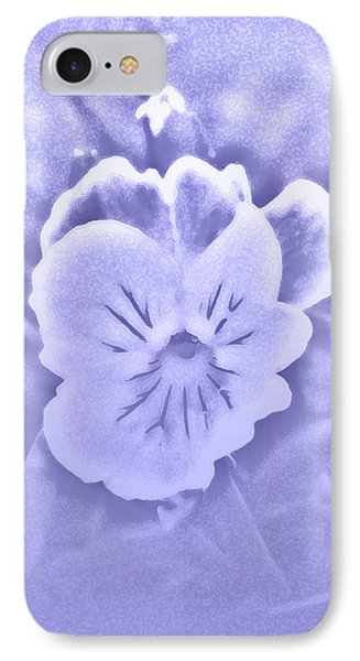 Artistic Pansy IPhone Case by Karen Harrison