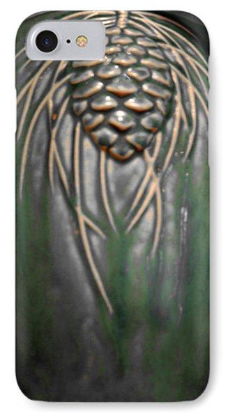 Artistic Pine Cone Vase Phone Case by LeeAnn McLaneGoetz McLaneGoetzStudioLLCcom