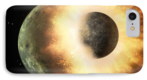 Artists Concept Of A Celestial Body IPhone Case by Stocktrek Images