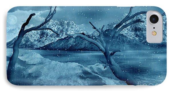 Artists Concept Of A Dangerous Snow IPhone Case by Mark Stevenson