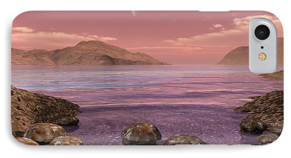 Artists Concept Of Archean IPhone Case by Walter Myers