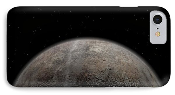 Artists Concept Of Pluto Phone Case by Walter Myers