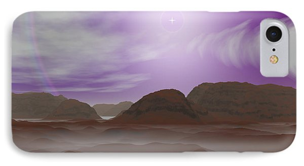 Artists Concept Of The Atmosphere Phone Case by Walter Myers