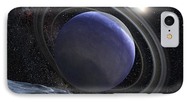 Artists Illustration Of An Extrasolar Phone Case by Stocktrek Images