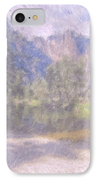As If Monet Painted Yosemite Phone Case by Heidi Smith