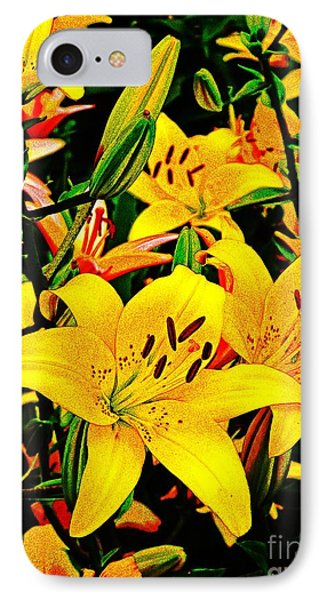 Asiatics In May  IPhone Case by Chris Berry