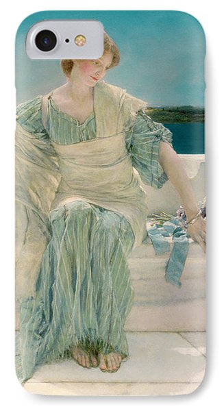 Ask Me No More Phone Case by Sir Lawrence Alma-Tadema