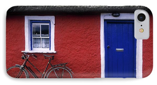 Askeaton, Co Limerick, Ireland, Bicycle Phone Case by The Irish Image Collection
