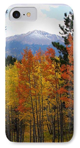 Aspen Grove And Pikes Peak Phone Case by Kimberlee Fiedler