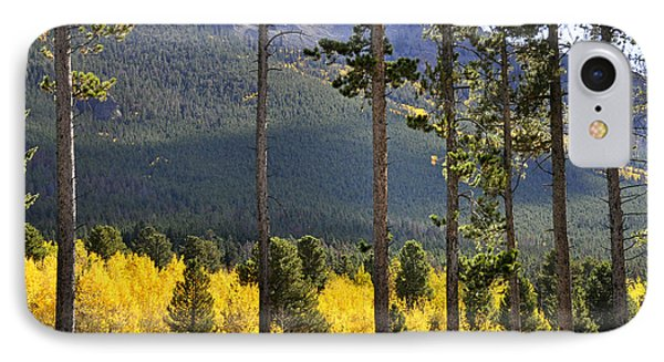 IPhone Case featuring the photograph Aspen Heaven Long's Peak Area by Nava Thompson