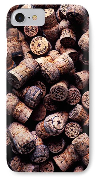 Assorted Champagne Corks Phone Case by Garry Gay