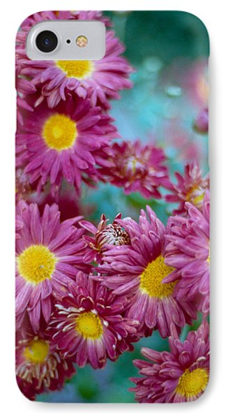 Asters Phone Case by Marcio Faustino