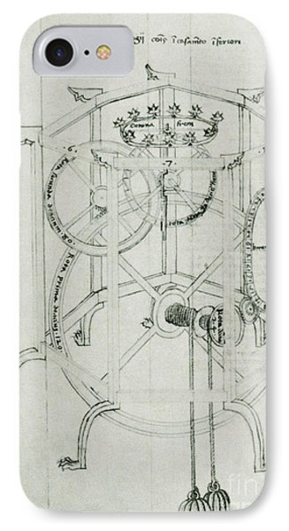 Astrarium Sketch By Giovanni De Dondi Phone Case by Science Source