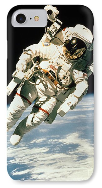 Astronaut In Space IPhone Case by NASA / Science Source