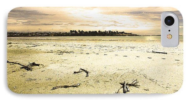 IPhone 7 Case featuring the photograph At Caroline Bay Timaru New Zealand by Nareeta Martin