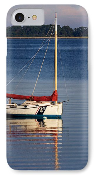 At Mooring IPhone Case by Michael Friedman