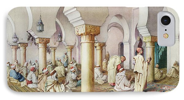 At Prayer In The Mosque Phone Case by Filipo Bartolini or Frederico
