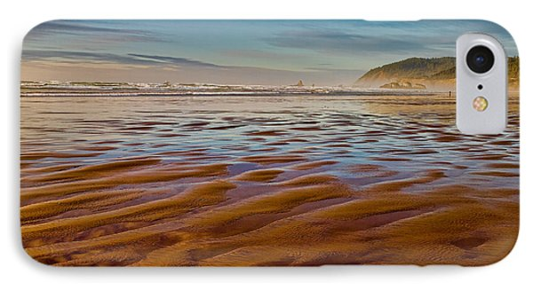 At The Beach IPhone Case by Ken Stanback