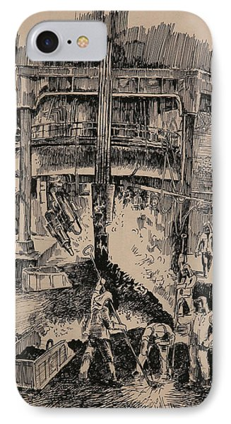 At The Blast Furnace IPhone Case