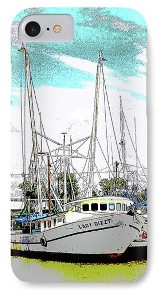 At The Dock Phone Case by Barry Jones