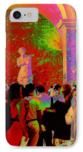 IPhone Case featuring the photograph At The Louvre by Louis Nugent