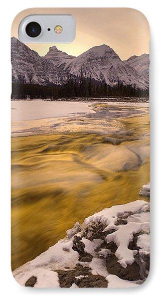 Athabasca River And Mt Fryatt, Jasper Phone Case by Darwin Wiggett