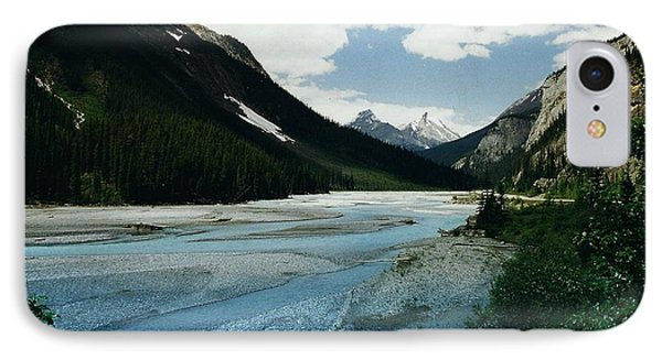 Athabasca River Phone Case by Shirley Sirois