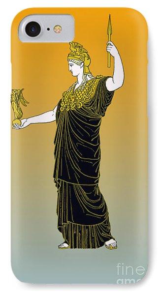 Athena, Greek Goddess Phone Case by Photo Researchers