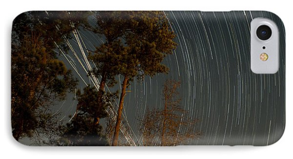 IPhone Case featuring the photograph Atlanta Star Trails by Ray Devlin