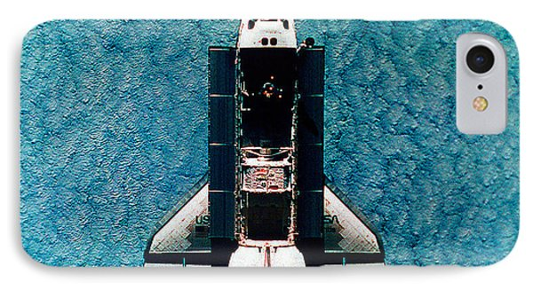 Atlantis Space Shuttle Phone Case by Science Source