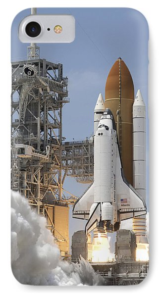 Atlantis Twin Solid Rocket Boosters Phone Case by Stocktrek Images