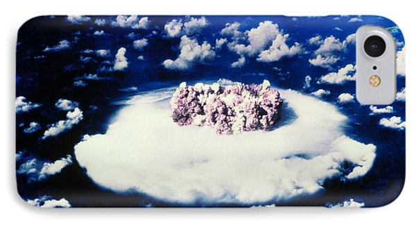 Atomic Bomb Test Cloud Phone Case by Science Source