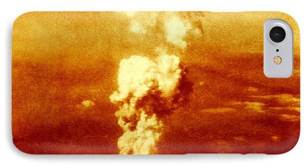 Atomic Burst Over Hiroshima, 1945 IPhone Case by Us National Archives And Records Administration