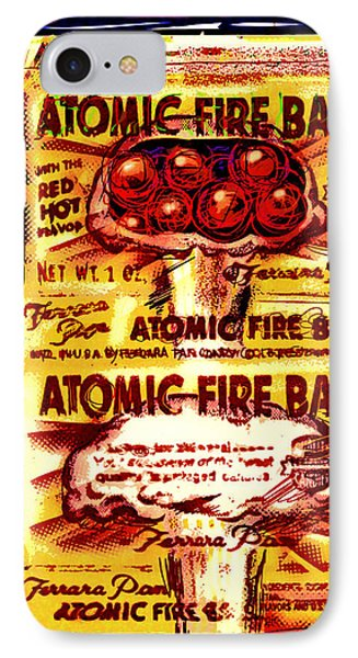 Atomic Fire Ball Phone Case by Russell Pierce