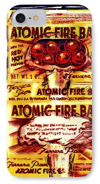 Atomic Fire Ball IPhone Case