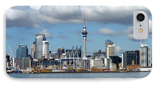 Auckland Skyline IPhone Case