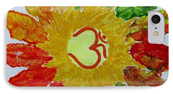Aumkar Mandala Phone Case by Sonali Gangane