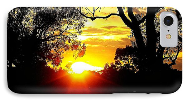 IPhone Case featuring the photograph Aussie Sunset by Blair Stuart